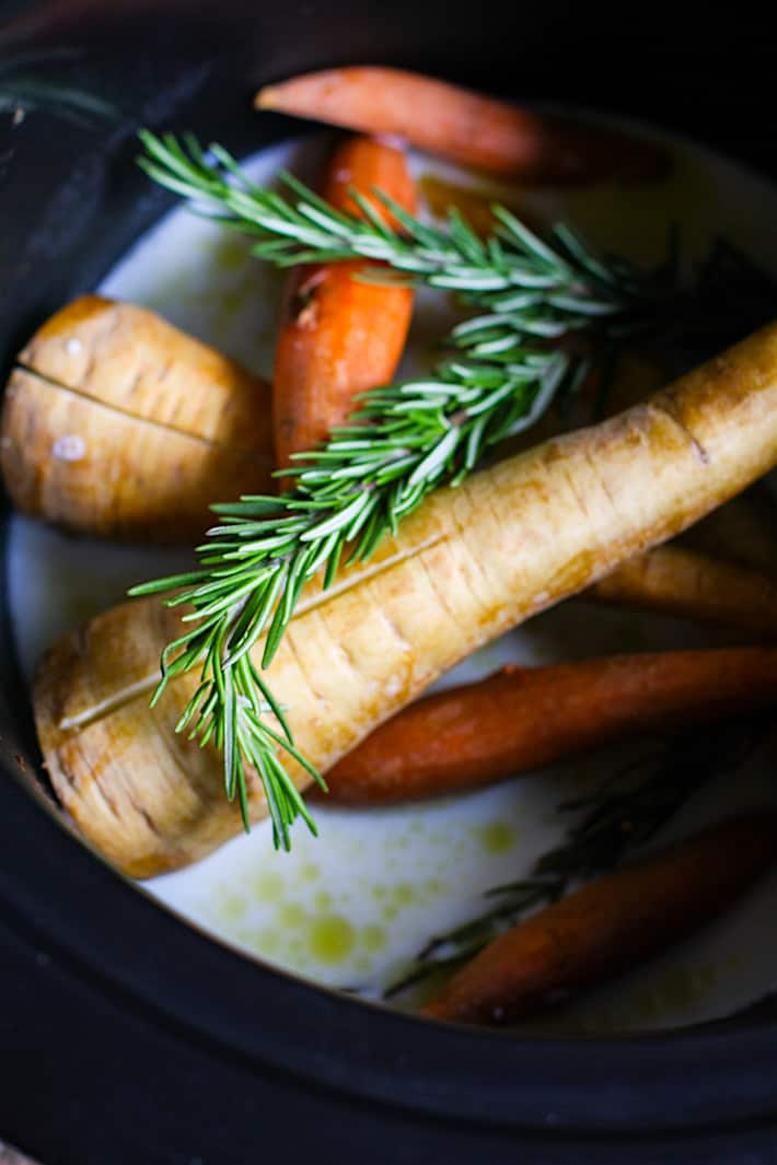 rosemary carrot parsnip mash crock pot ingredients