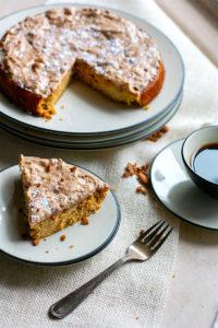 White Chocolate Spiced Almond Cake