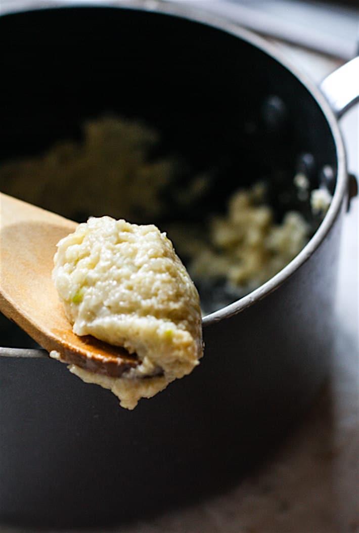 Stuffed Veggie garlic herb gluten free buttermilk biscuits