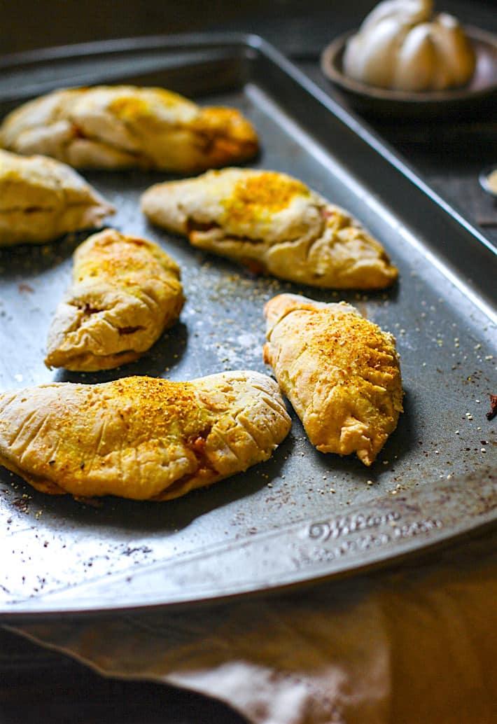 Gluten Free Honey Baked Ham and Potato Empanadas