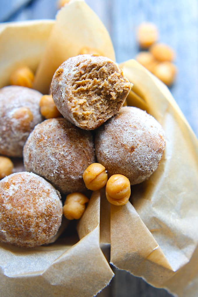 Salted Caramel Snickerdoodle Protein Balls Gluten Free