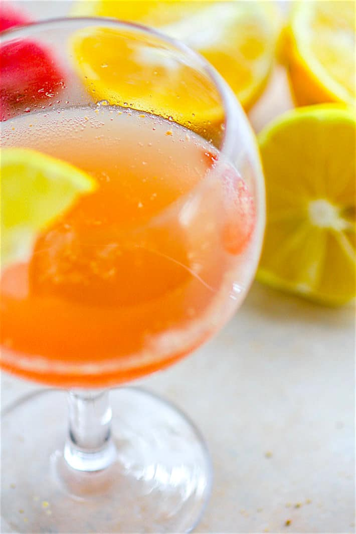 Light and Naturally Sweetened Winter Citrus Paloma Tequila Cocktail! A slightly different twist on the traditional tequila cocktail recipe with a healthy dose of Vitamin C! This Winter Citrus Paloma Cocktail is naturally sweetened with fresh winter citrus, orange peel, agave, and combined with quality tequila to create one refreshing winter cocktail. A perfect light cocktail for holiday brunch or parties.
