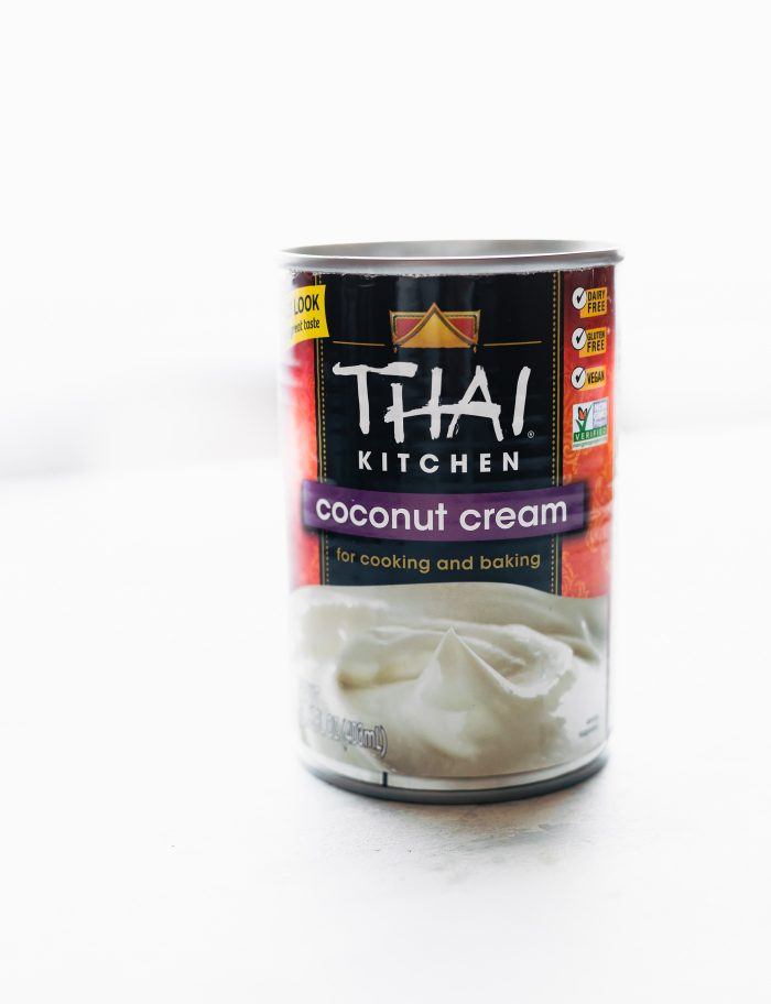 can of coconut cream