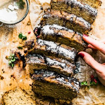 irish cream grain free banana bread (dairy free). #glutenfree
