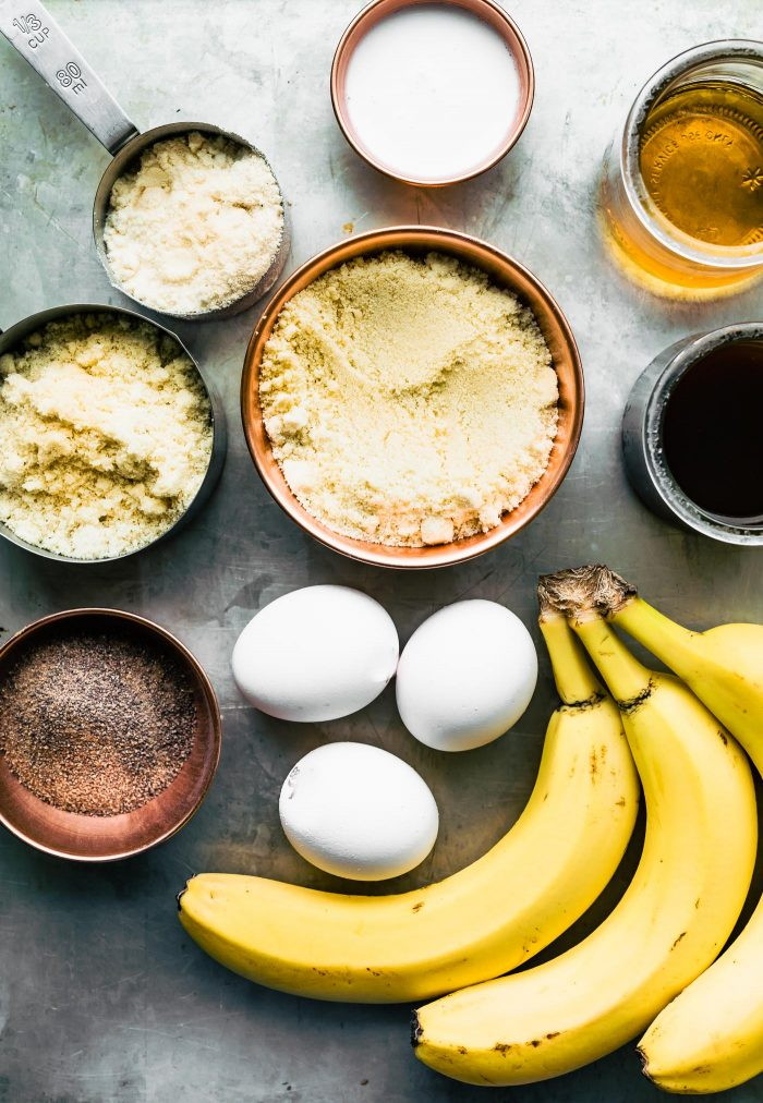grain free banana bread ingredients