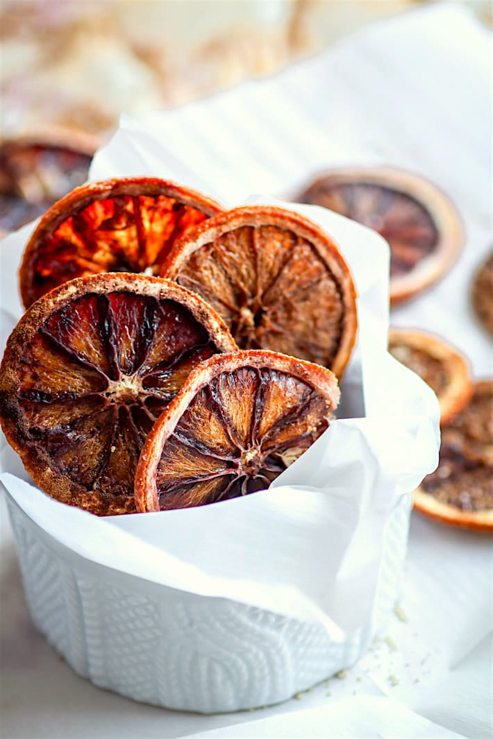 oven dried orange slices recipe
