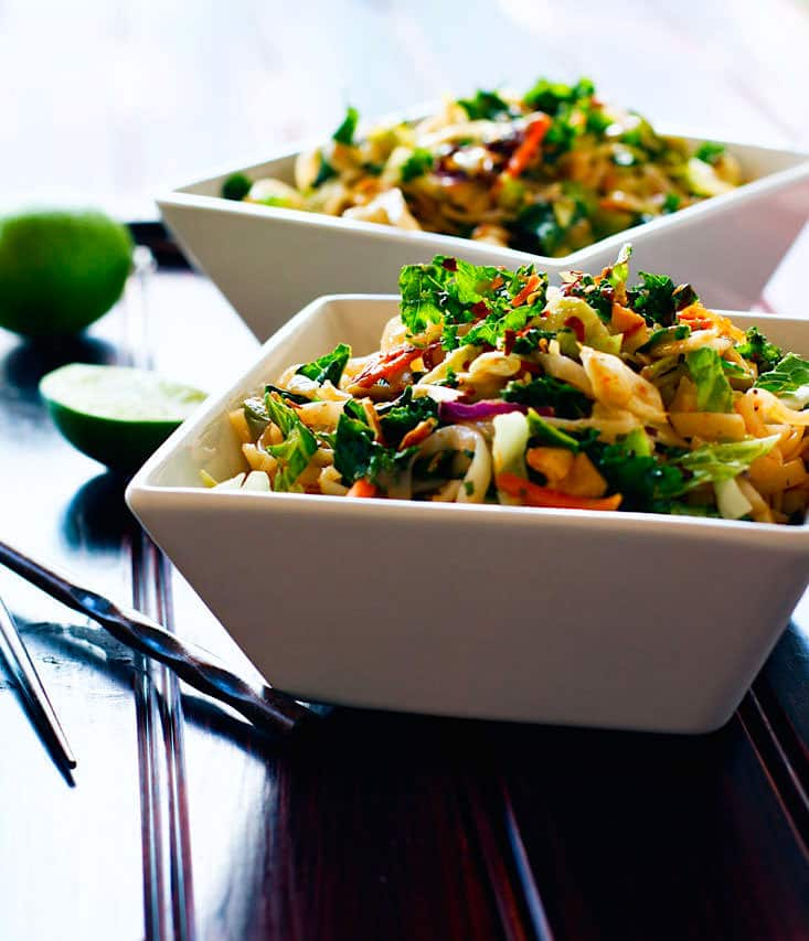 rice noodle salad gluten free