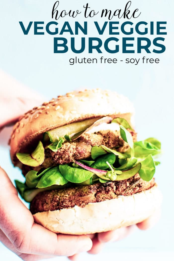 Gluten Free Vegan Veggie Burger Recipe Soy Free