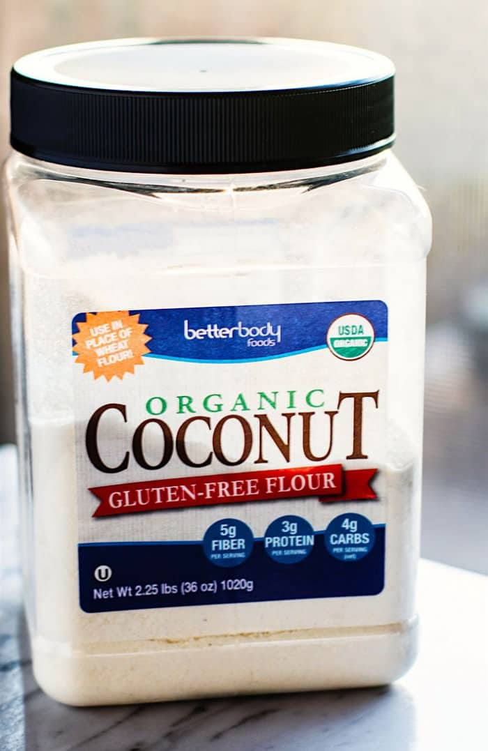 Better Body Foods Coconut Flour.