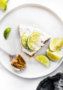 Coconut Lime Vegan Cake with Whipped Coconut Cream Frosting