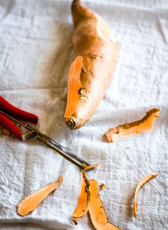sweet potato skin fries (crisps) (4 of 1)