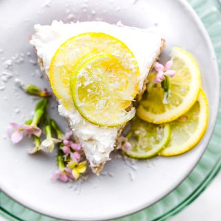 vegan lime coconut cake GF-8