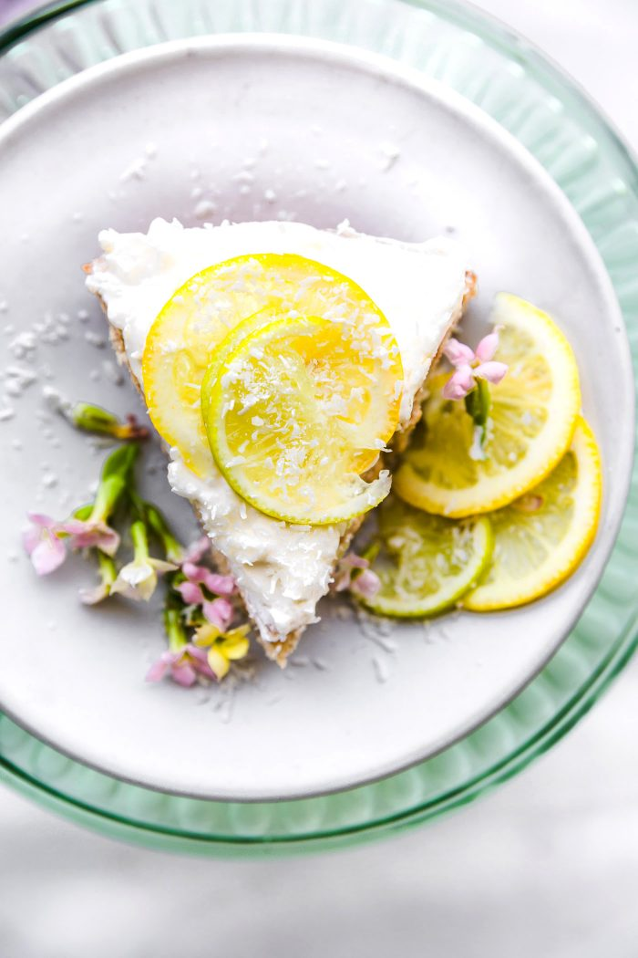 vegan lime coconut cake GF