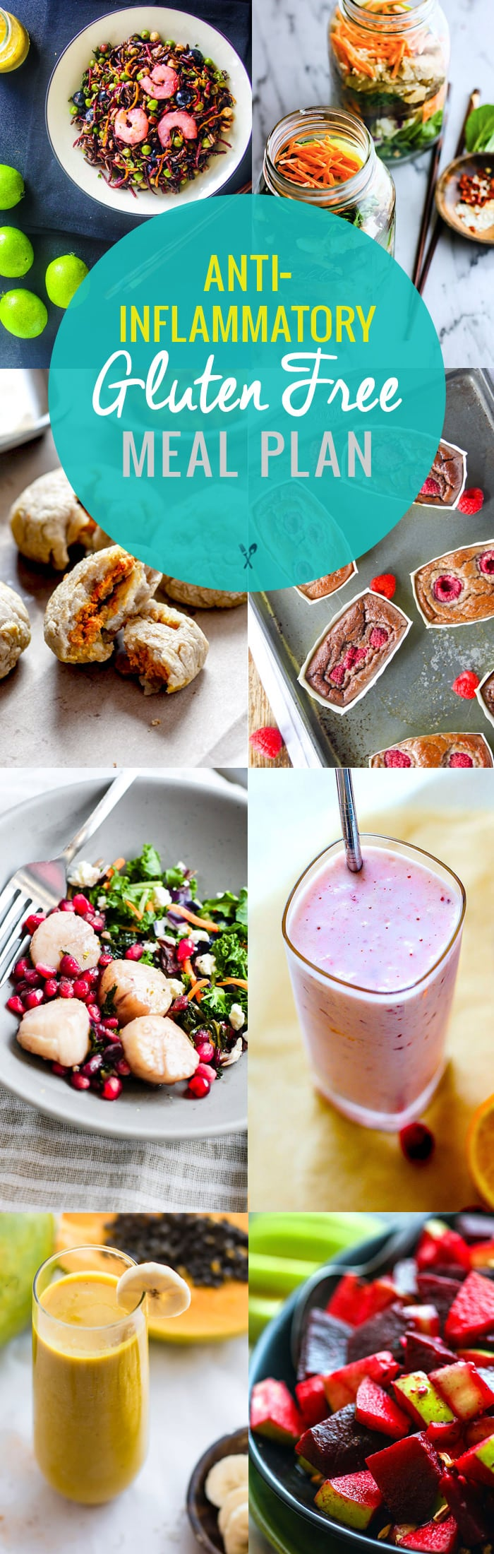 Anti Inflammatory Gluten Free Meal Plan Recipes And