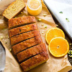 Zesty Orange Cream Paleo Zucchini Bread  {Healthy, Rich in Vitamin C}