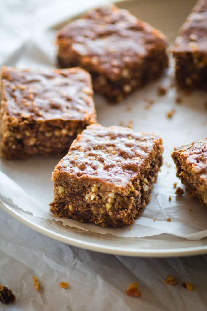 gluten free meal plan dessert - bacon chocolate chip crunch bars