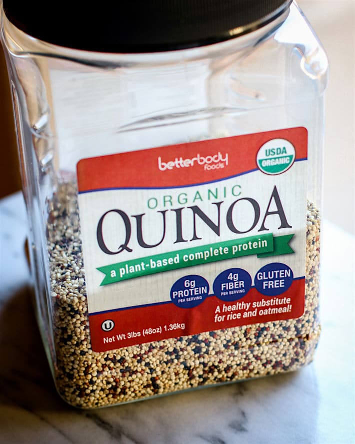 Better Body Foods Organic Quinoa