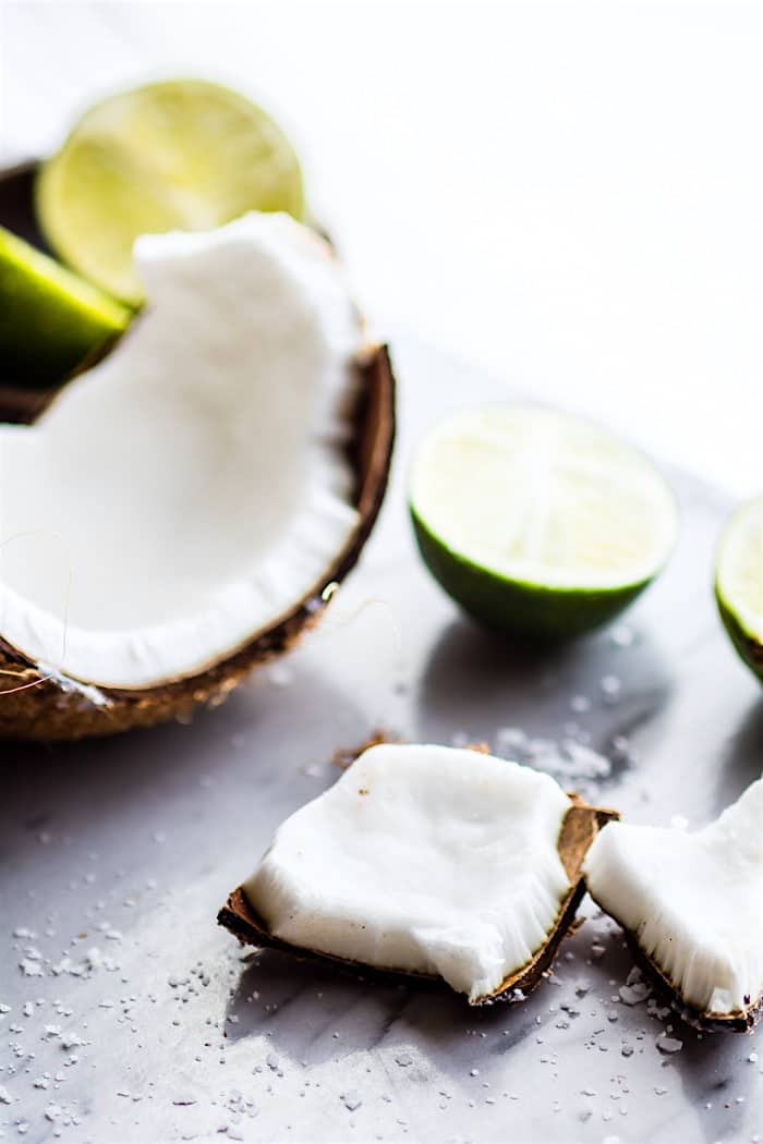 no bake coconut margarita bites - vegan, healthy, gluten free!