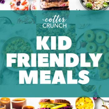 """titled photo """"Kid Friendly Meals with Hidden Vegetable Recipes"""""""