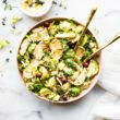 brussels salad- cooked