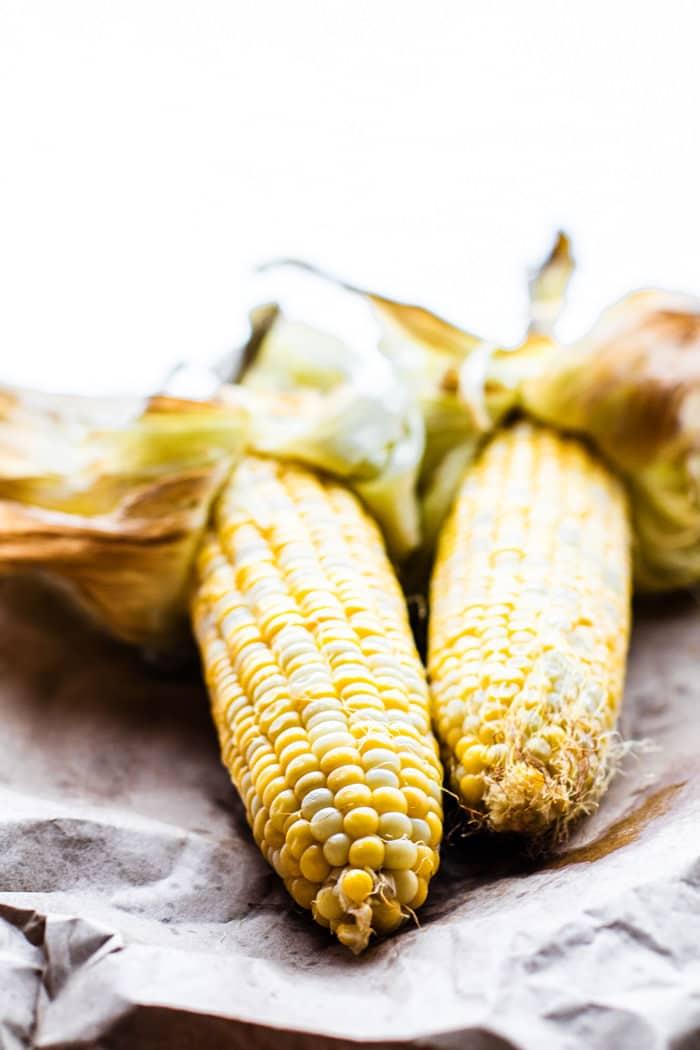Spicy Vegan Cream of Corn soup (gluten free, blender recipe)