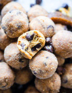 No Bake Maple Chocolate Chip Toffee Bites {Paleo Friendly}