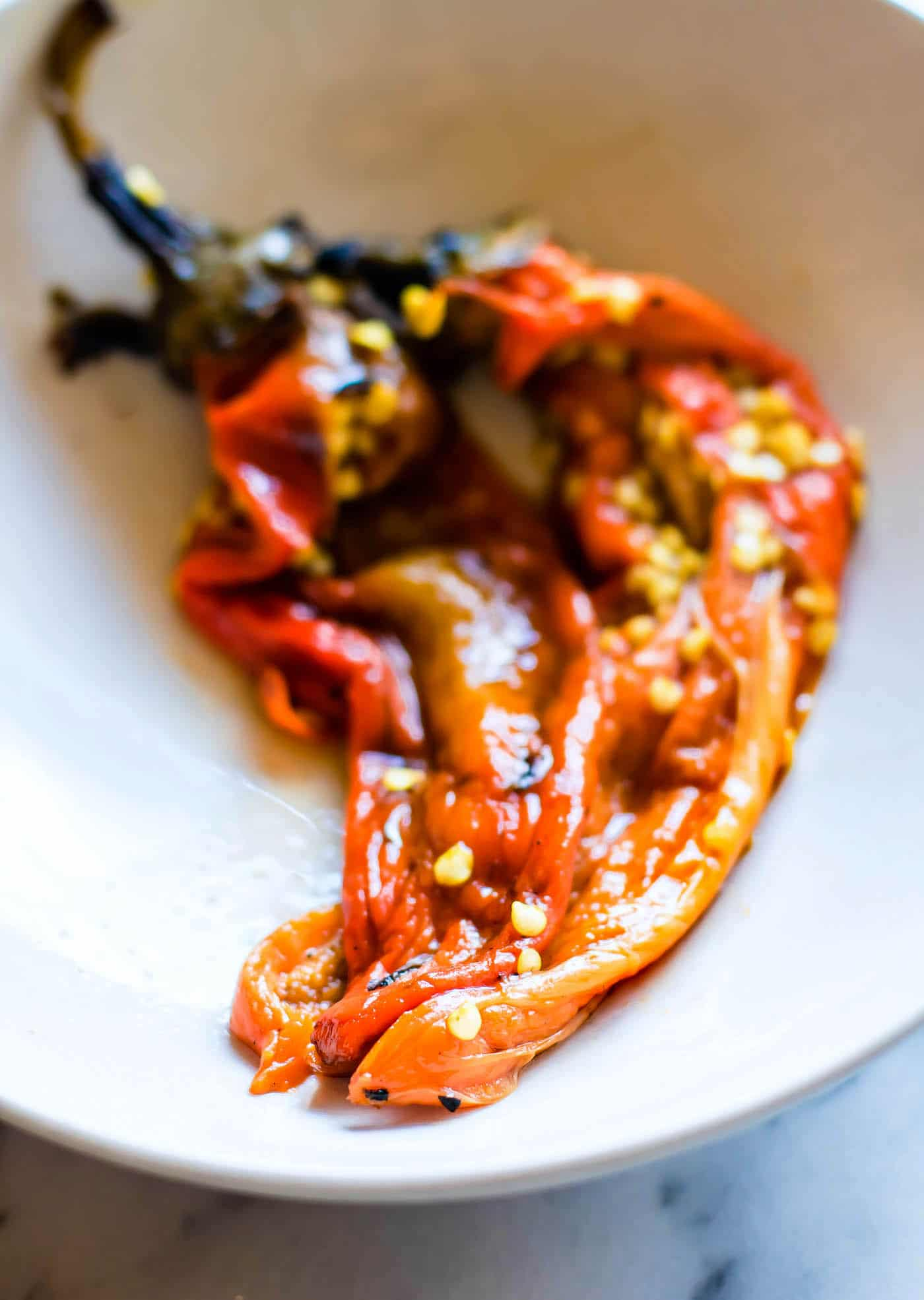 spicy roasted southwest peppers