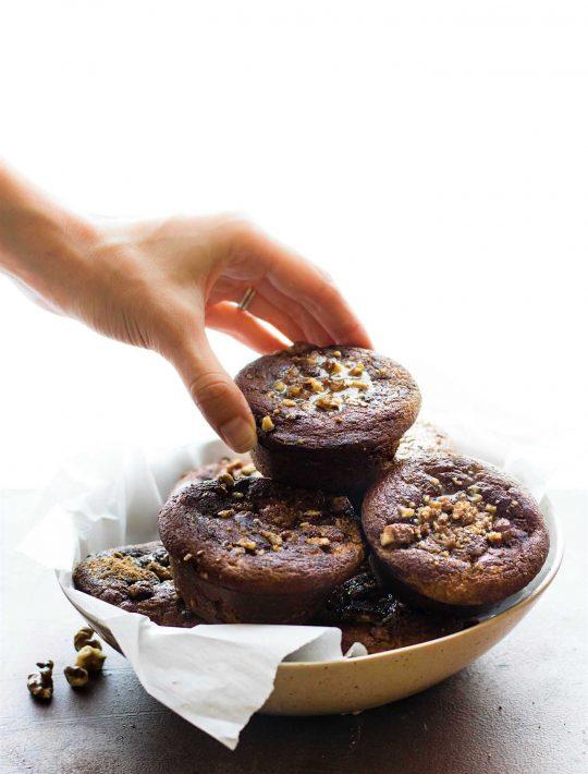 homemade coffee cake muffins