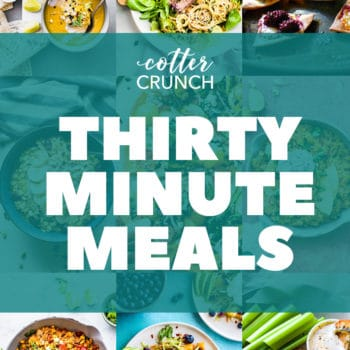 30 minute meals gluten free meal plan collage