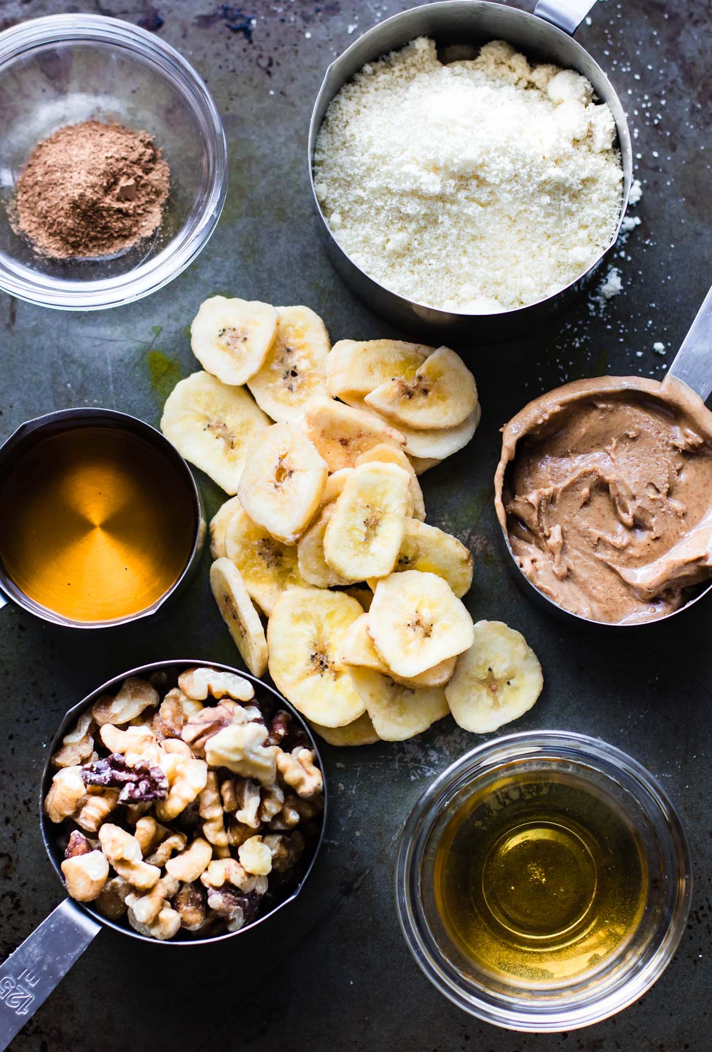 ingredients to make dairy free banana bread