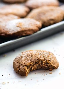 Brown Butter Snickerdoodle Cookies {Gluten Free Holiday Baking}
