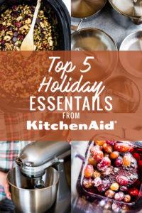 5 Holiday Kitchen Essentials from KitchenAid
