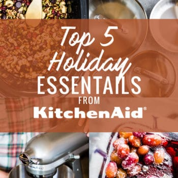 Holiday Kitchen Essentials that will make entertaining process a breeze! Yes, now is the perfect time toupgrade your kitchen forthe holidays! Since the Thanksgiving and Christmas countdown has officially begun , I thought I'd share my favorite5 holiday kitchen essentials from KitchenAid®.