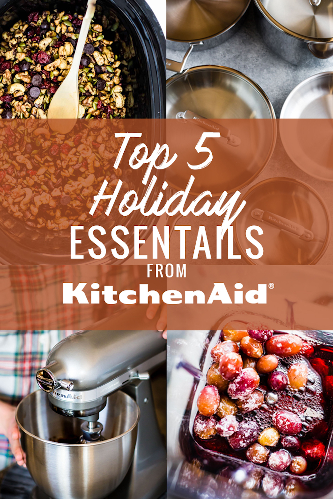 Holiday Kitchen Essentials that will make the entertaining process a breeze! Yes, now is the perfect time to upgrade your kitchen for the holidays! Since the Holiday countdown has officially begun, I thought I'd share my favorite 5 holiday kitchen essentials rom KitchenAid. Because the right equipment in the kitchen makes all of the difference while you prep for a delicious holiday feast. So come join me in my kitchen and check out these tools that are not only essential for the holidays, but for ANYTIME of year! Gluten Free Recipe ideas and suggestions included for each. www.cottercrunch.com