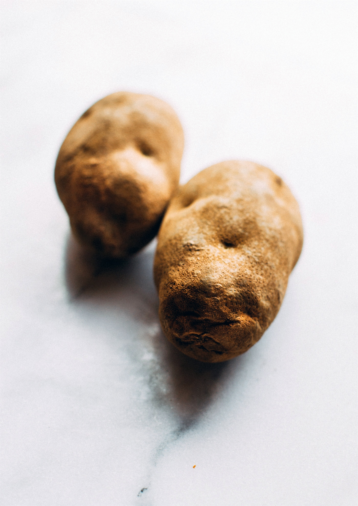 2 unpeeled russet potatoes