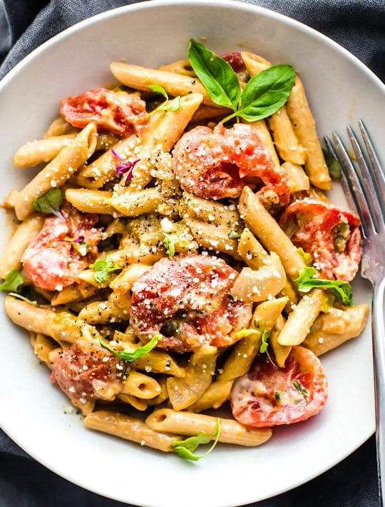 gluten free pasta recipe made with gluten free penne pasta