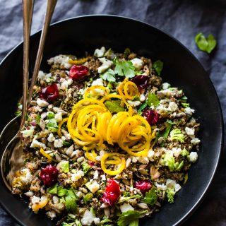 Crock Pot Quinoa Pilaf