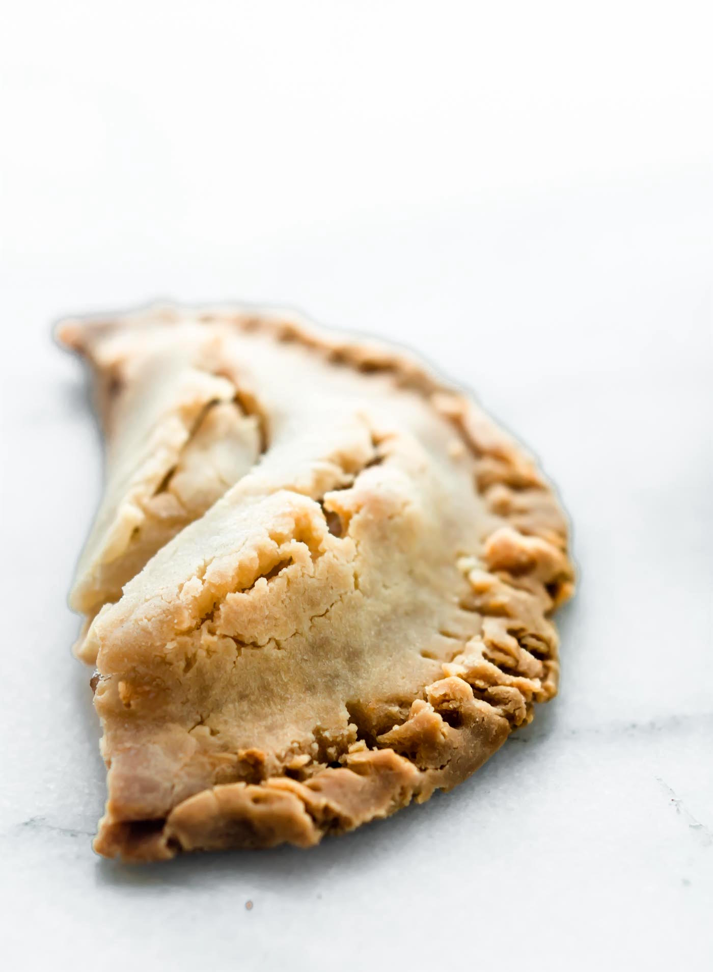 Gluten Free Fruit Hand pies made with just 3 ingredients! An easy fruit hand pies recipe that customizable, dairy free friendly, and QUICK! You will love how simple this recipe! Perfect for brunch, dessert, snacking and all!
