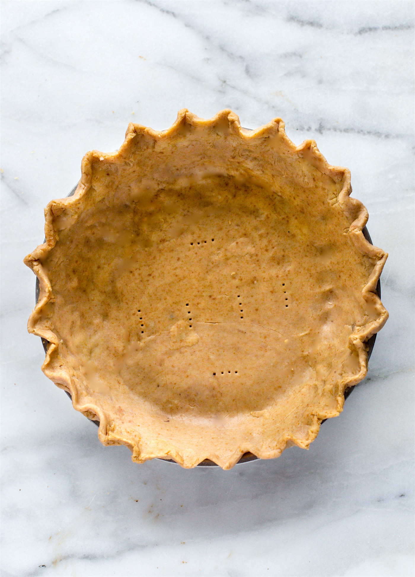 A 3 ingredient gluten free pie crust
