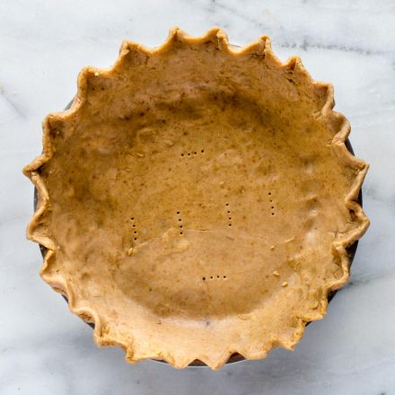 3 ingredient gluten free pie crust