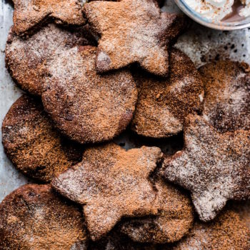 Mexican Hot Chocolate Sugar Cookies