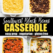 casserole - southwest bean - pin long