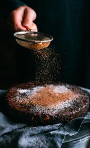 Vegan Chocolate Christmas Cake {Panforte}