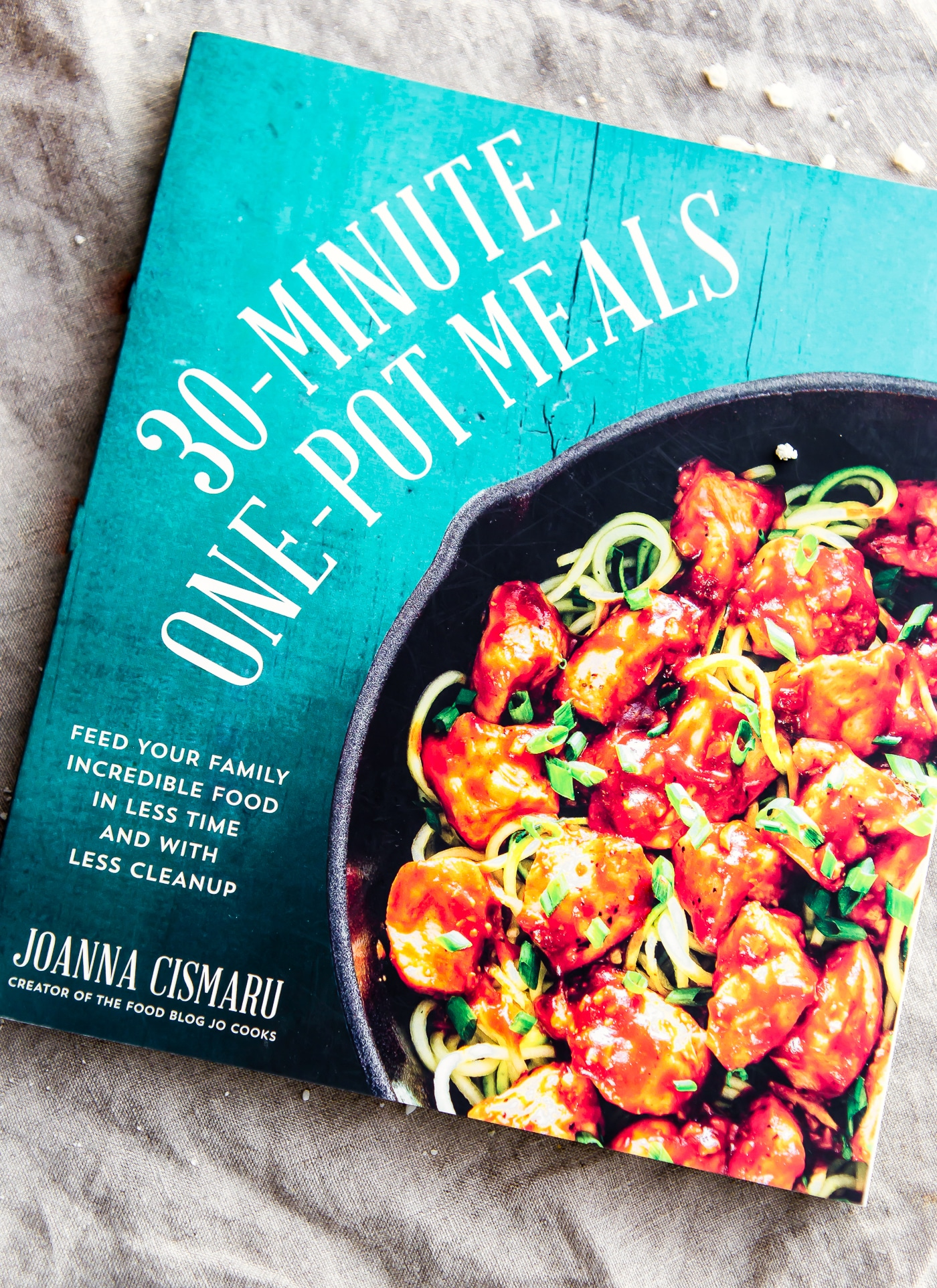 30 minute one pot meals cook book. Recipe for Zippy Pear Goat Cheese Kale Salad {Vegetarian, Gluten Free}