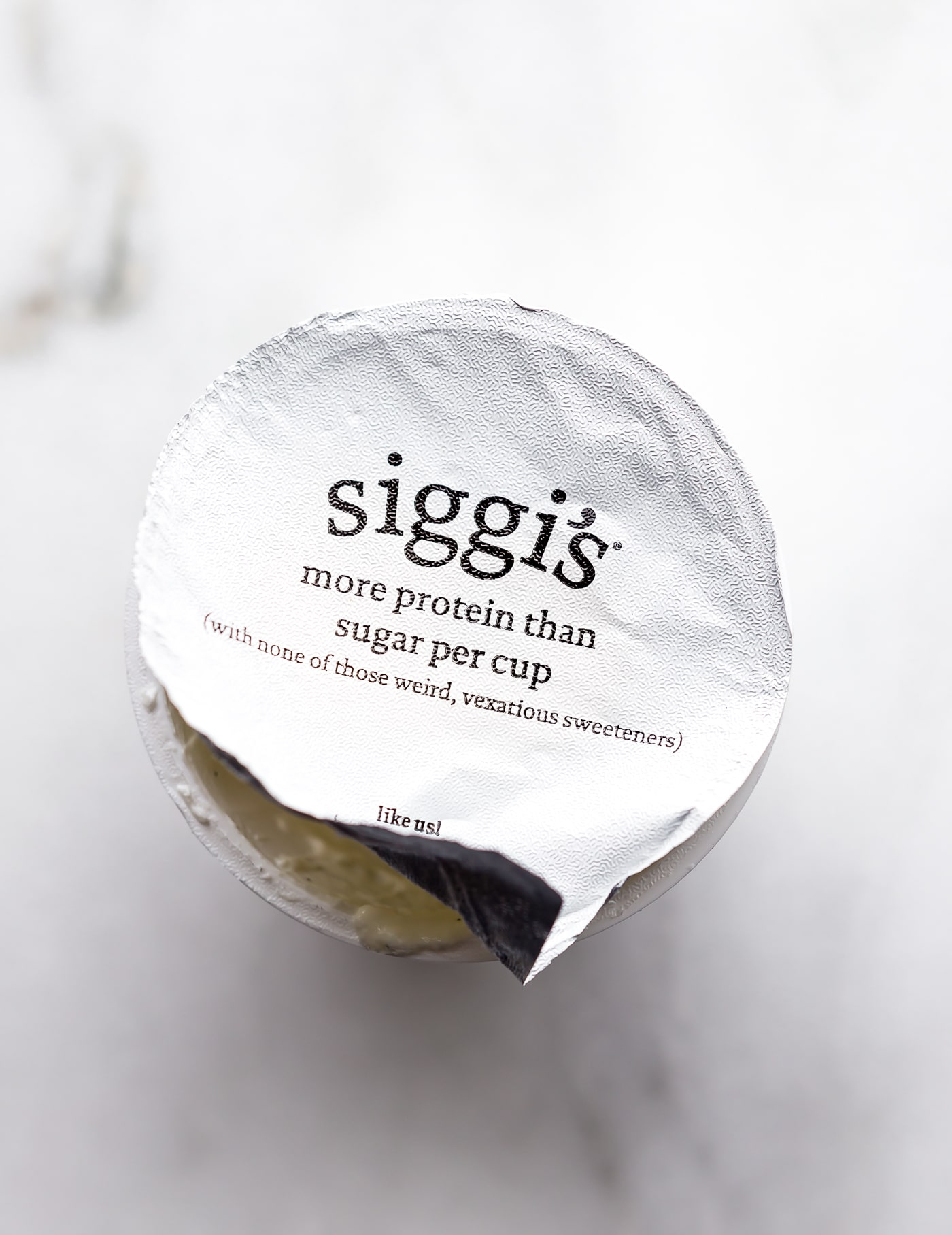 Siggi's protein packed yogurt