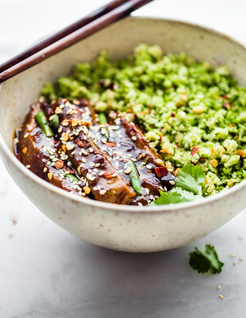 Mongolian Beef Broccoli Quot Rice Quot Bowls Quick Easy Recipe