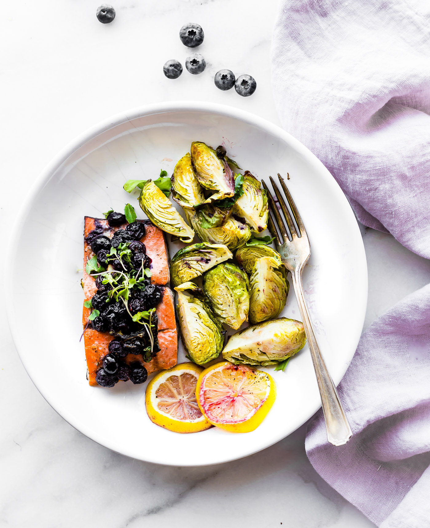 Superfood Baked Salmon {Paleo One Pan Meal} + Recipe VIDEO