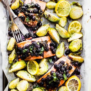 Superfood Sheet Pan Baked Salmon