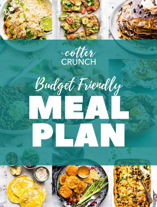 Budget Friendly Gluten Free Meal Plan photo collage