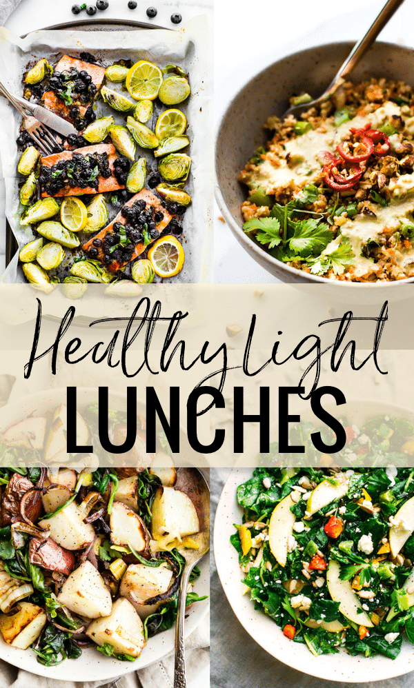 Healthy Light Lunch Recipes {Gluten Free}